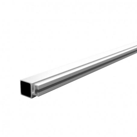 SquareFix® LED profile 25x25x1.45x6100mm