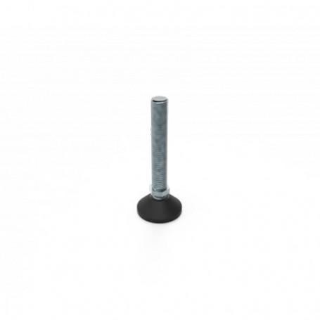 SquareFix® bullet-adjustable foot M10x65