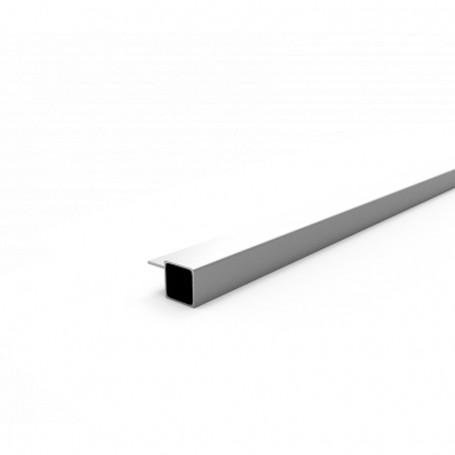 SquareFix® profile 25x25x1.45x6000 + 15mm
