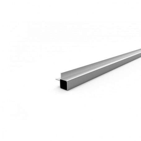 SquareFix® profile 25x25x1.45x6100mm + 90°