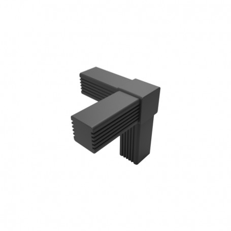 SquareFix® 3-way connector 90°-90°