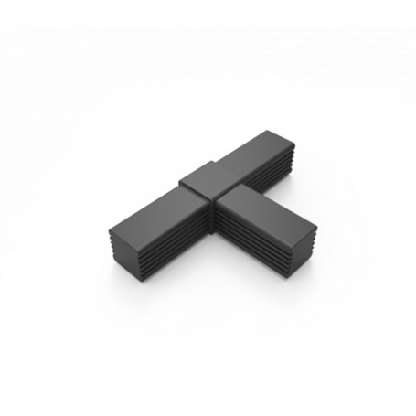 Conector SquareFix® 3 cai 180°-90°