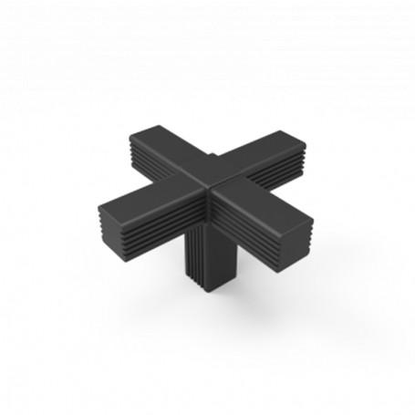 SquareFix® 5-way connector 180°-90°