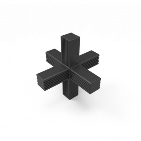 SquareFix® 6-way connector 180°-90°