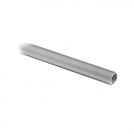 12mm aluminum round profile, 3-8mm connectors