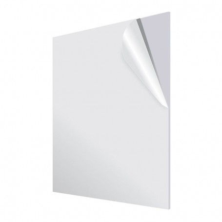 Acrylic Plate PMMA XT CN White Opaque 3mm