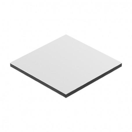 Panou aluminiu compozit alb 1500 x 4050 x aluminiu 0.2mm