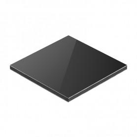 Panou aluminiu compozit negru 1500 x 4050 x aluminiu 0.3mm