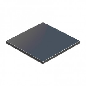 Aluminum Composite Panel Anthracite Color 1500 x 4050 x aluminium 0.3mm