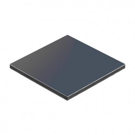 Panou aluminiu compozit antracit mat 1500 x 4050 x aluminiu 0.3mm