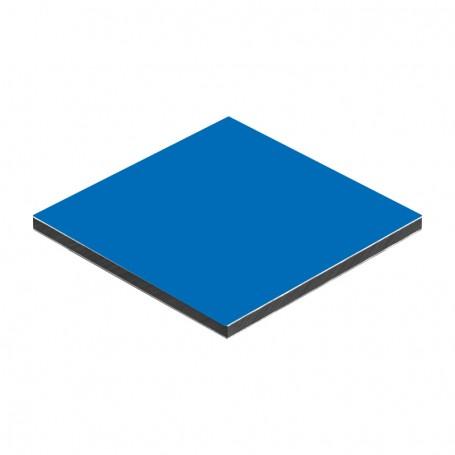 Panou aluminiu compozit albastru mat 1500 x 4050 x aluminiu 0.3mm