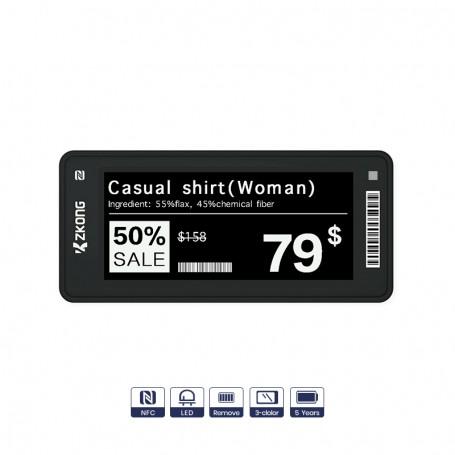 """2.66"""" electronic shelf label"""