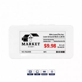 """2.13"""" electronic shelf label, freeze"""