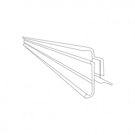 Electronic label rail 1000x37.5x22.7mm