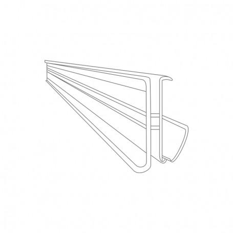 Electronic label rail 1000 x 36.5 x 32.7mm