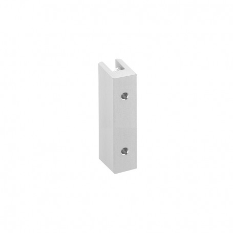 Wall connector H 66mm, 3-8mm panels