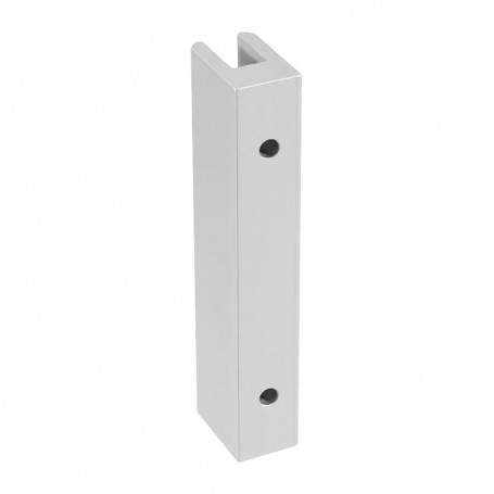 Wall connector H 99mm, 3-8mm panels