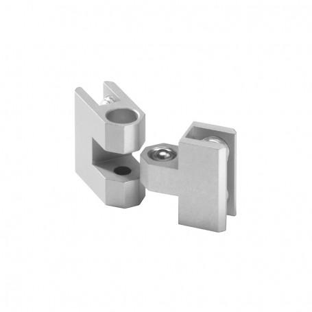 Door connector adjustable 90°-270°, panles 3-8mm