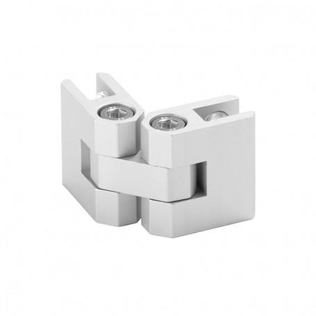Pre-assembled multifunctional connector, adjustable 0°-360°, panels 3-10mm