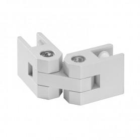 Conector multifunctional premontat, ajustabil 0°-360°, panouri 10-16mm