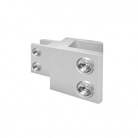 Pre-assembled combi connector, panels 10-16mm