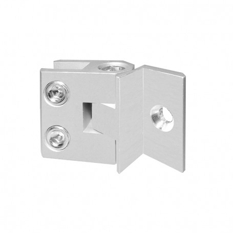 Special connector at adjustable angle 90°-270°, panels 5-8mm