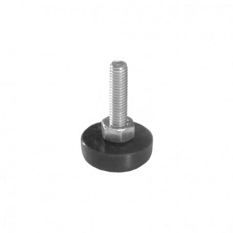 Adjustable leg with screw M6 x 30mm
