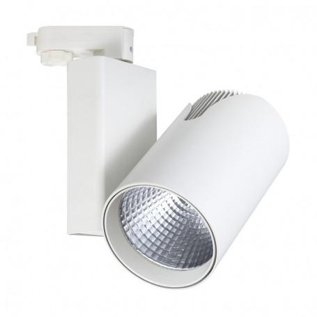 Spot cu LED cilindric pe sina, rotire 360 grade