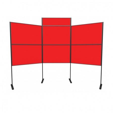6 panel and pole kit