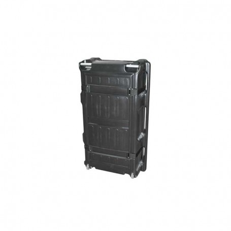 Wheeled moulded linear case