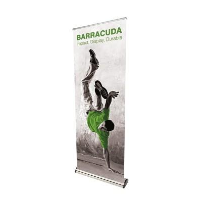 Barracuda roll-up banner