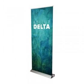 Delta+ roll-up banner