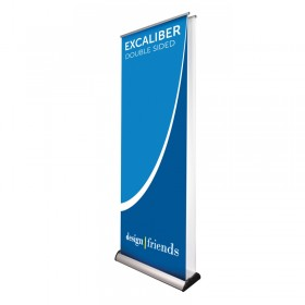 Excaliber 2 roll-up banner