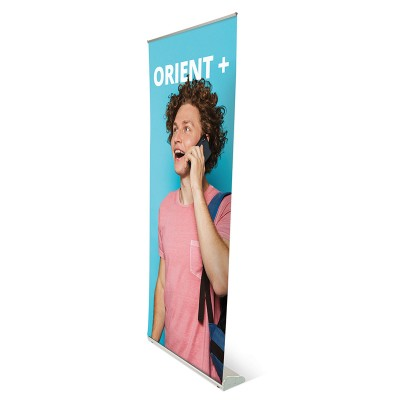 Orient+ roll-up banner