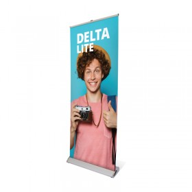 Delta Lite roll-up banner