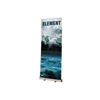 Element roll-up banner