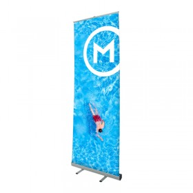 Giant Mosquito roll-up banner
