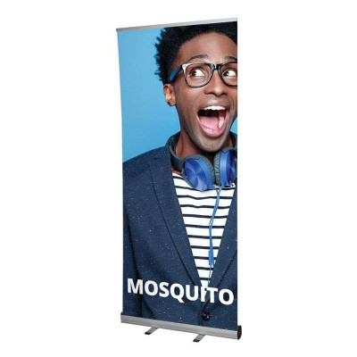 Mosquito roll-up banner