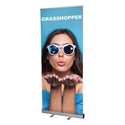 Grasshopper roll-up banner