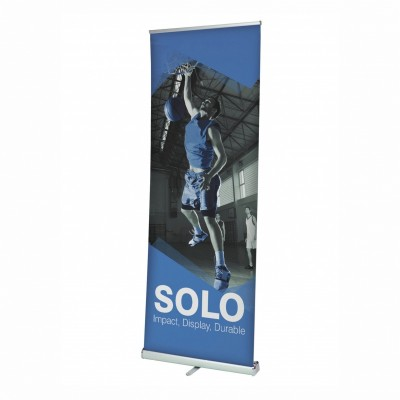Solo roll-up banner