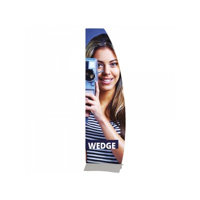 Wedge support banner