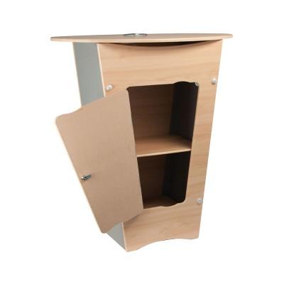 Pop-up desk V Ellipse