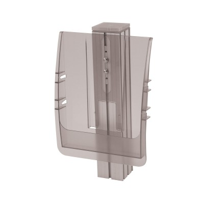 Injection moulded literature holders