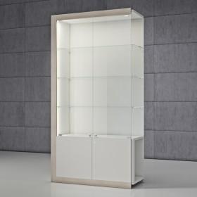 QUADRATUM FRAME modular showcase, by ItalVetrine