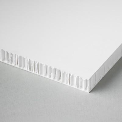 Printable honeycomb panel, white-white