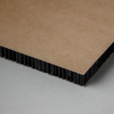 Placa carton tip fagure, printabila, kraft-negru