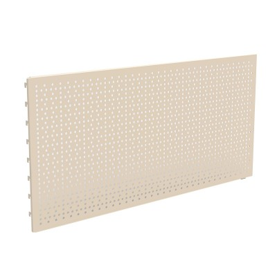 Perforated back pannel, 220x500mm