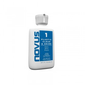 Plastic clean and shine solution, 60 ml