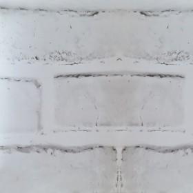 Folie decorativa caramida alba 1,220m latime