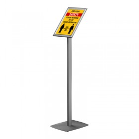 Classic info stand/menu with stand